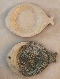 ceramic fish platter built ceramic textured fish plates creative