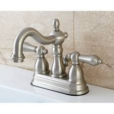 English Bathroom Satin Nickel English Bathroom Faucet Free Shipping Today