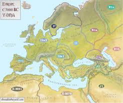 North America Ice Age Map by Maps Of Europe U0027s Ancient Tribes Kingdoms And Y Dna