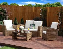 Outdoor And Patio Furniture by New Rattan Wicker Weave Garden Furniture Patio Conservatory Sofa