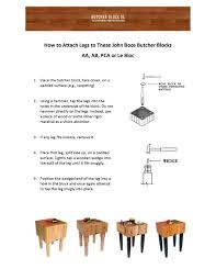 boos block butcher block table assembly instructions boos butcher blocks carts