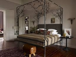 Forest Canopy Bed Wrought Iron Beds Master Bedroom Decor Pinterest Wrought