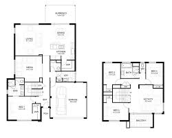 Floor Plan Two Storey House 139 Best Australian Homes And Floor Planes Images On Pinterest
