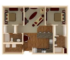 Apartments 2 Bedroom Bedroom Medium 2 Bedroom Apartments 3d Painted Wood Wall Mirrors