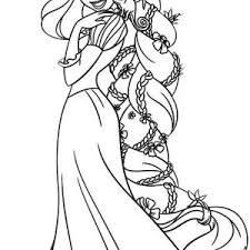 princess coloring pages rapunzel flynn