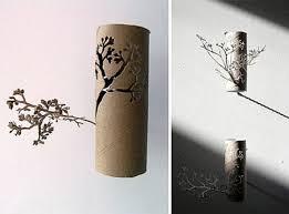 creation avec des rouleaux de papier toilette des oeuvres avec des rouleaux de papier toilettes
