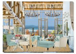 Coastal Shabby Chic Cottage Family Room Challenge Olioboard - Cottage family room