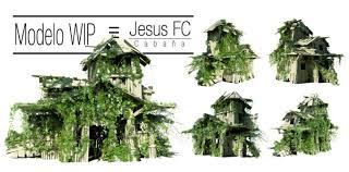 forgotten forest tutorial cabin model design jesus fc