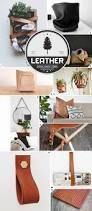 home decor ideas using leather box design storage containers