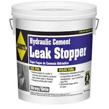 sakrete 20 lb gray leak stopper 65450006 the home depot