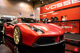 ferrari 488 gtb vossen wheels ferrari 488 gtb vossen forgedprecision series