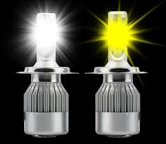 white light bulbs not yellow h4 yellow and white integrated dual color temperature led headlight