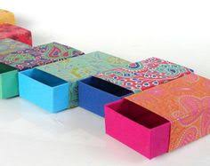 Traditional Indian Wedding Favors 5 Small Ornate Gift Boxes Paper Box Favors Holiday Favor Boxes