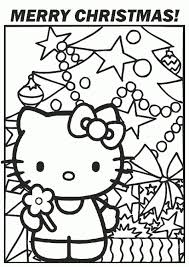 christmas hello kitty coloring pages www allegiancewars com