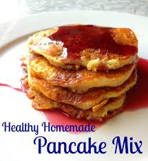 Pancake Flour Healthy Homemade Pancake Mix Todaysmama