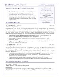 Sample Resume For Purchasing Agent Cover Letter Sample Purchasing Manager Cover Letter Templates