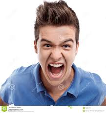 angry man shouting royalty free stock photos image 35383948
