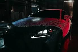 reviews of lexus of edison lexus covered a car with 41 999 leds to create the most