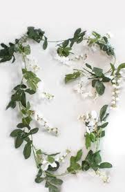 wisteria garland white 6ft