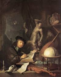 the painter the painter in his workshop 1647 gerrit dou wikiart org