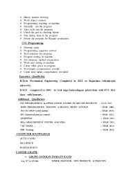 Example Of Personal Resume by Marinew Resume