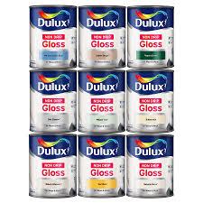 dulux non drip gloss paint interior u0026 exterior 750ml for radiator