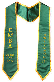 customized graduation stoles honor cords graduation tassels and caps and gowns