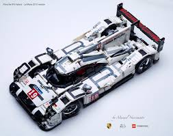 lego technic amazing fan built lego technic porsche 919 the 2015 le mans