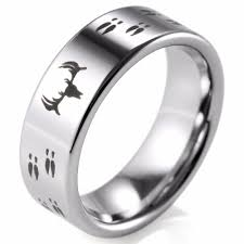 mens wedding bands mens wedding bands suppliers and manufacturers click to buy shardon etched deer flat tungsten