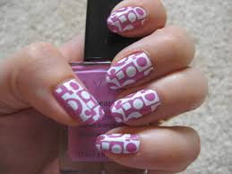 erica u0027s nails and more notd avon orchid splash with konad stamping