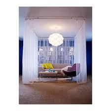 Ikea Ceiling Curtain Track Lill Net Curtains 1 Pair White 280x250 Cm Net Curtains Sheer