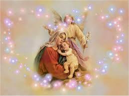 mary with baby jesus wallpaper wallpapersafari