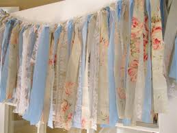 Shabby Chic Curtains Cottage Shabby Chic Ribbon Garland Photo Booth Backdrop Cottage Chic