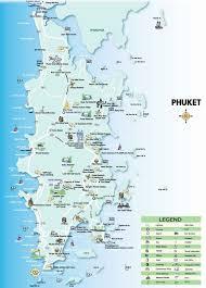 Phuket Thailand Map Beach Paradise Phuket