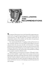 writing the results section of a research paper 4 conclusions and recommendations changing the conversation page 97