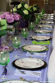 Table Decor Dining Table Decor Ideas Purple And Green Toot Sweet 4 Two