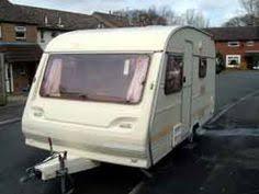 5 Berth Caravan With Awning 1992 Avondale Custom 4 5 Berth View Of The Back Of The Caravan