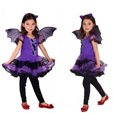 Toddler Bat Halloween Costume Xl Fantasia Girls Halloween Vampire Costumes Kids Bat Cosplay