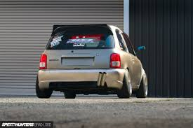 nissan micra japanese import the smiling assassin speedhunters