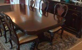Thomasville Dining Room Table And Chairs by Used Kitchen U0026 Dining Furniture Usedfurniture