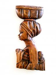 imports collection wood sculpture west culture home