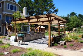 Wood Pergola Designs And Plans by 40 Modern Pergola Designs And Outdoor Kitchen Ideas