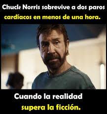 Memes De Chuck Norris - dopl3r com memes chuck norris sobrevive a dos paros cardíacos en