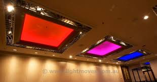 colour changing led ceiling lights grand hyatt melbourne features led walls and panels leds