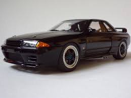 nissan gtr model car nissan skyline gt r r32 group a 1990 autoart model 日産