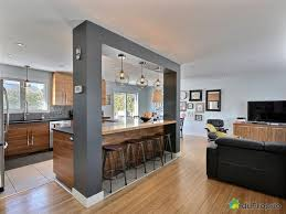 ouverture salon cuisine salon ouvert sur cuisine style cottage bar dans lzzy co