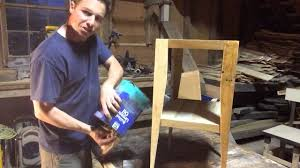 How To Oil Outdoor Furniture How To Apply Boiled Linseed Oil To Raw Wood Furniture For A Rubbed