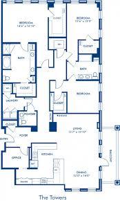 100 apartments floor plans 3 bedrooms 1 2 u0026 3 bedroom