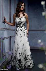 black and white wedding dress and white wedding dresses with straps naf dresses