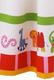 ikea barnslig djur forest animal curtains boy children